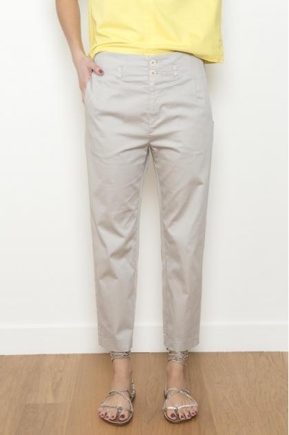 Lightweight satin short trousers 97% COTTON 3% ELASTHANNE