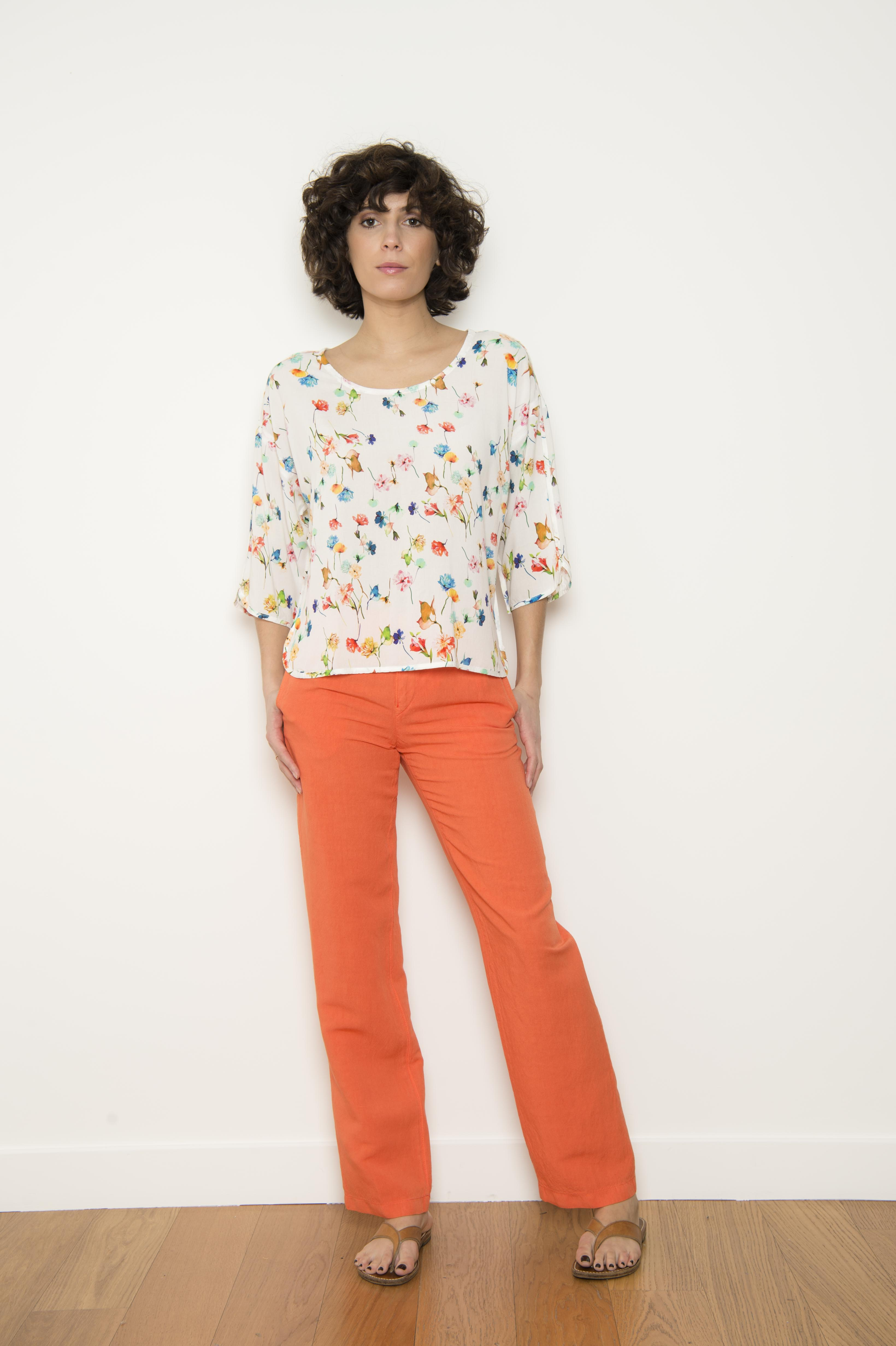 100% polyester blouse