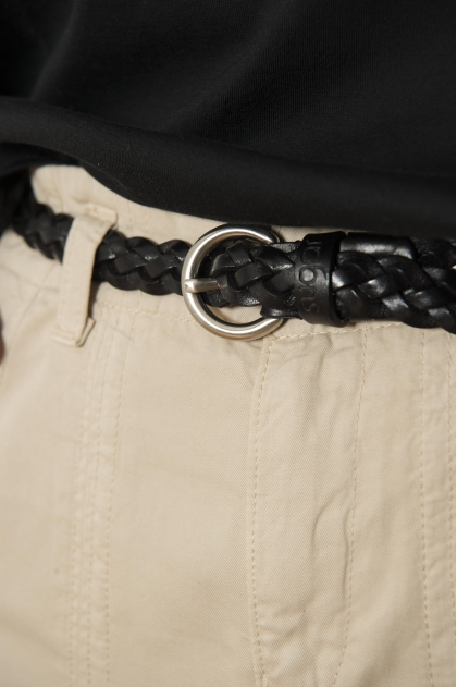 Fine belt in 100% genuine leather