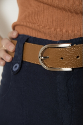 Genuine skin belt