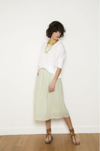 Cotton voile skirt 100% COTTON