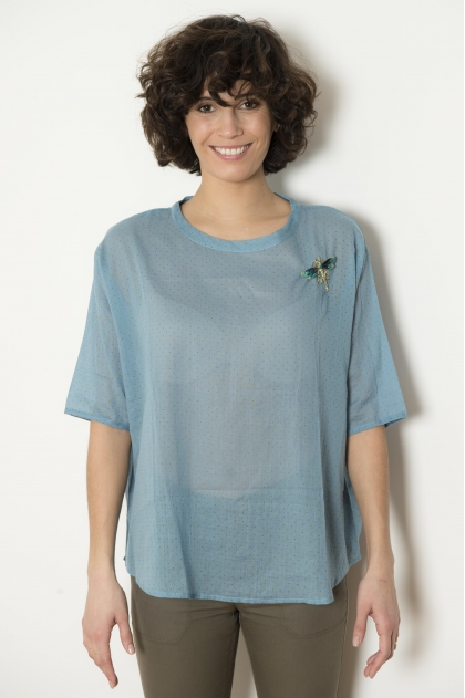 Cotton voile tunic 100% COTTON