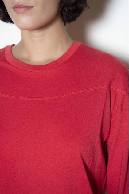 T-shirt 85% cotton 15% cashmere