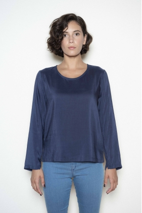 64% tencel 26% silk t-shirt