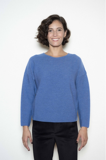 100% merino virgin crew neck jumper