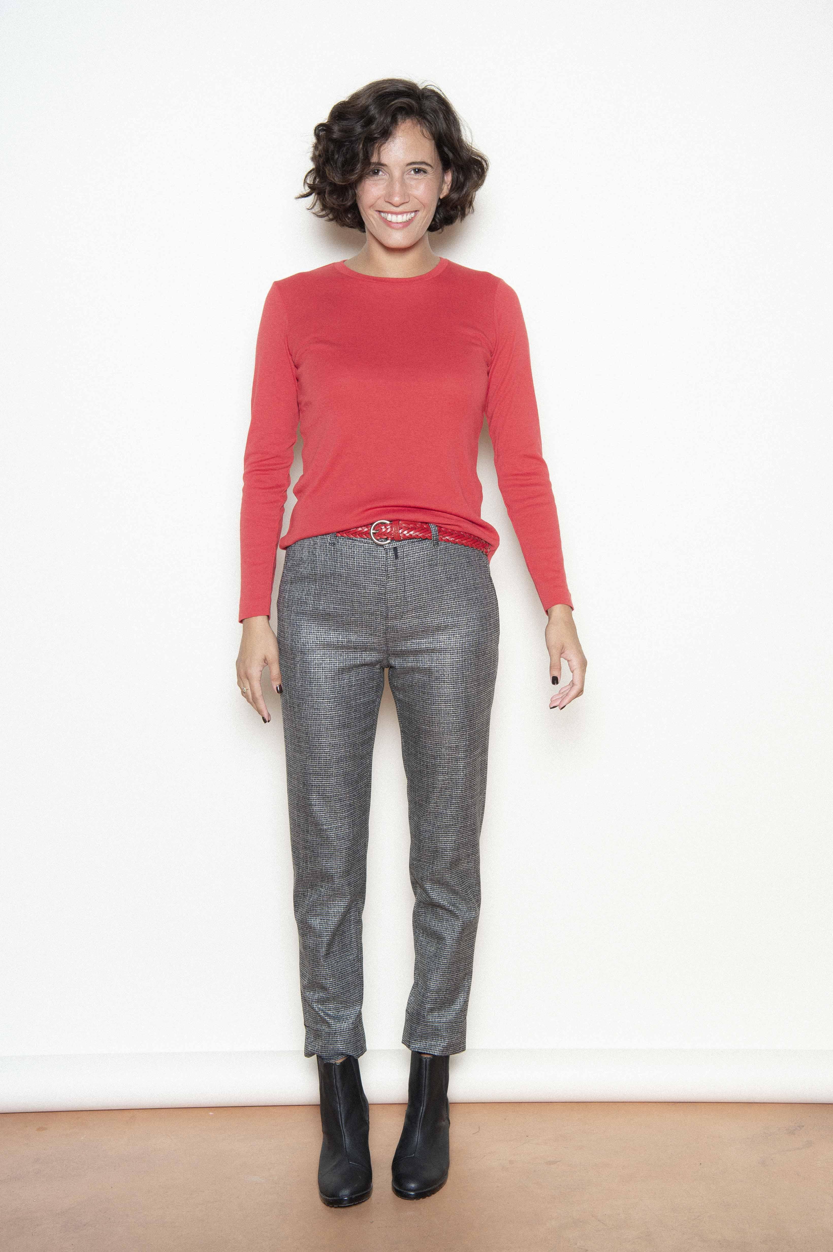 Trousers 50% viscose 48% polyester 2% elastane