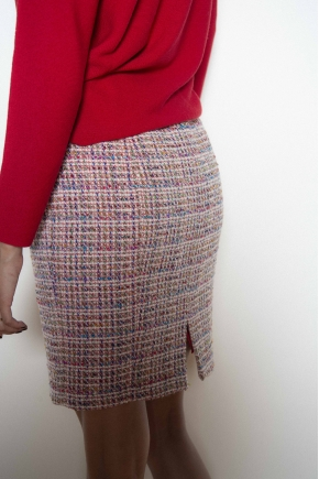 Skirt 64% Wool 36% cotton