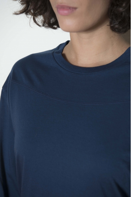 Tee-shirt Marinière jersey cachemire 85% coton 15% cachemire