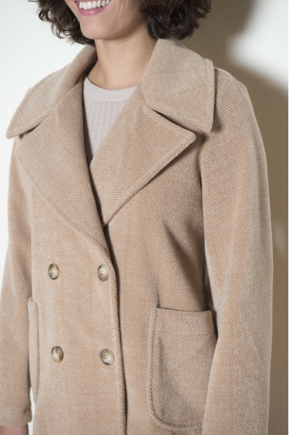 Coat 45% Acrylic 30% Polyamide 20% Wool 5% Other fibers