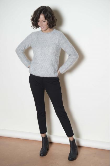 Trousers 65% Viscose 30% Polyamide 5% Angora