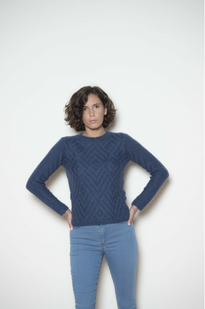 Sweater 70% super kid mohair 25% polyamide 2% wool