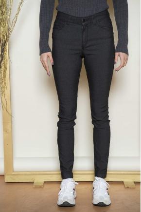 Pantalon denim délavé 50% coton 32% cupro 16% polyester 2% élasthanne