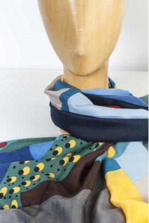 Scarf 80% Polyester 20% Viscose
