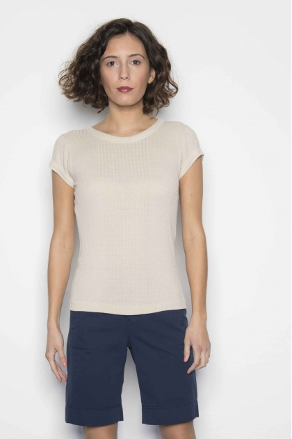 T-shirt 85% viscose 15% silk
