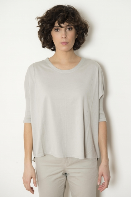 T-shirt 100% Cotton Jersey Feather
