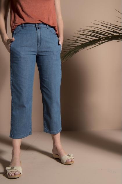 Denim trousers 96% cotton 4% elastane