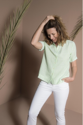 Shirt 52% cotton 48% linen