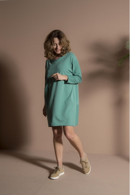 Robe 95% coton 5% élasthanne