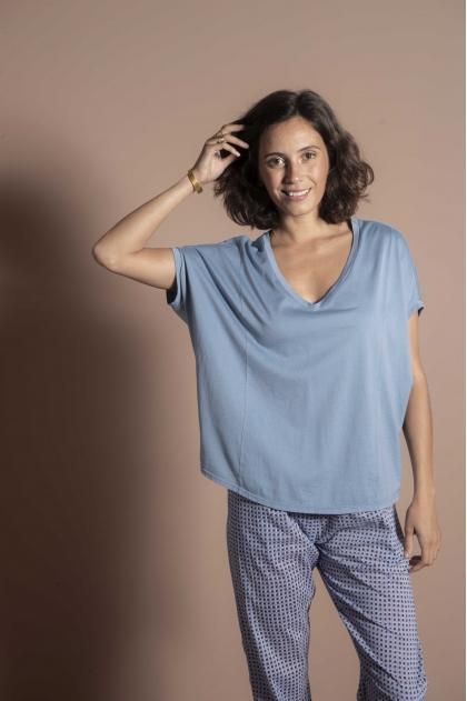 """Tee-shirt 100% Coton """"Jersey Plume"""""""