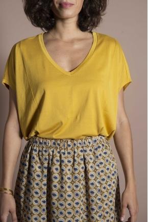 "Tee-shirt Souple 100% Coton ""Jersey PLume"""