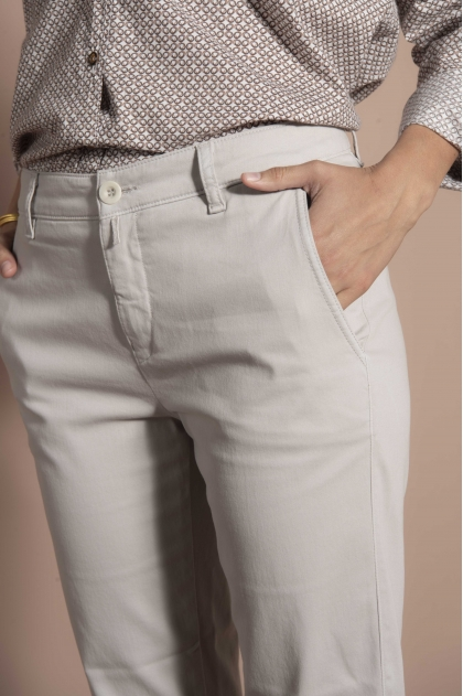 Trousers 66% cotton 31% polyamide 3% elastane