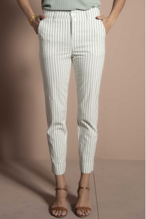 Trousers 67% viscose 30% cotton 3% elastane