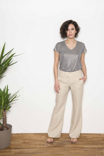 Trousers 100% Flax