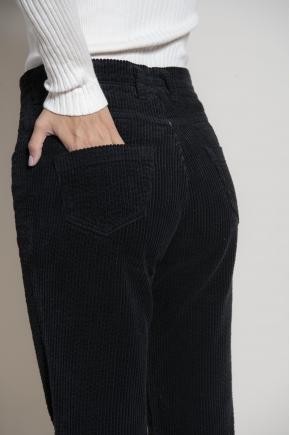 Aged velvet pants