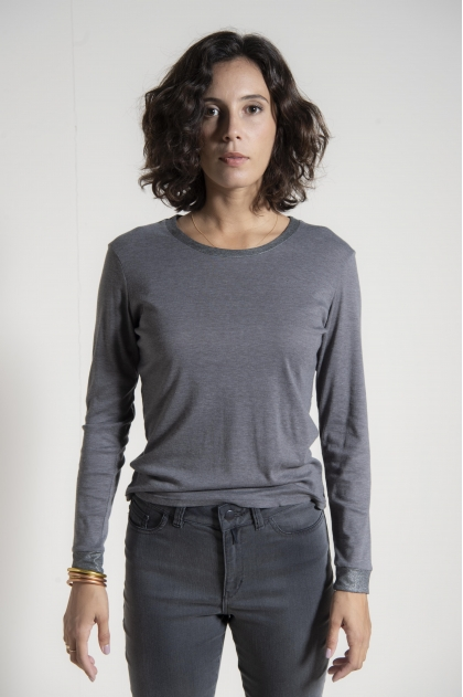 T-shirt 50% cotton 50% polyamide