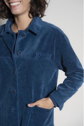 Veste en velours côtlé 100% coton