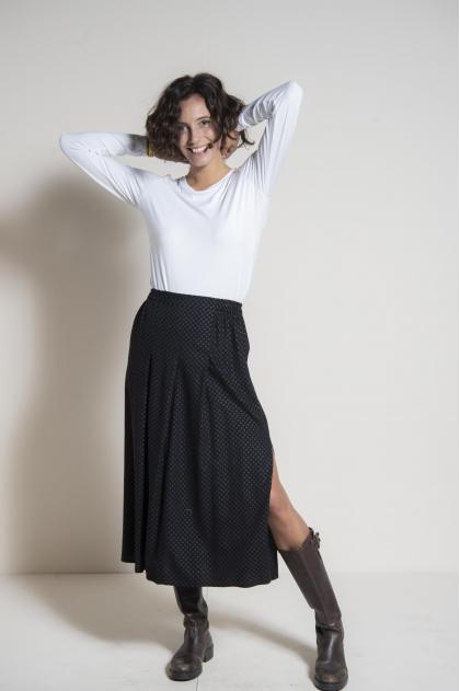 Long skirt 100% viscose
