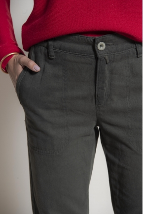 Pants 60% cotton 25% viscose 15% polyester