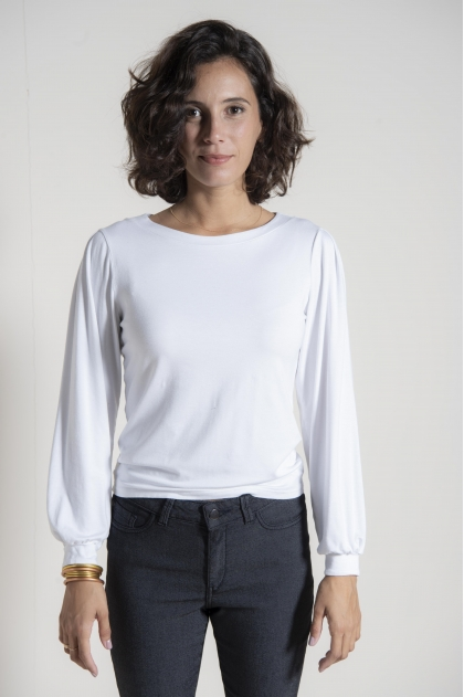 Tee shirt jersey 96% viscose 4% élasthanne