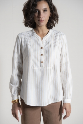 Shirt 50% viscose 50% cotton