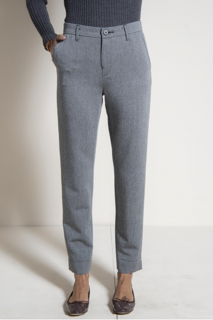 Pants 52% virgin wool 48% viscose