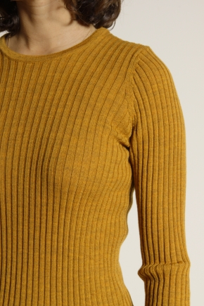 Crew neck jumper sock 100% extra fine merino wool
