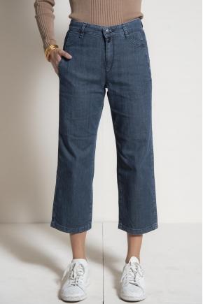 Pantalon denim 98% coton 2% élasthanne