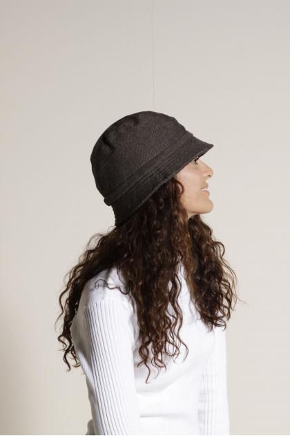 Chapeau 35% Coton 35% Laine 12%  Polyamide 10% Acrylique  8% autres fibres