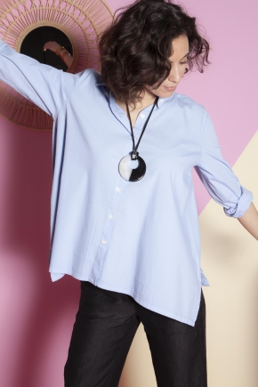 Shirt 74% Cotton 23% Polyamide 3% Elastane