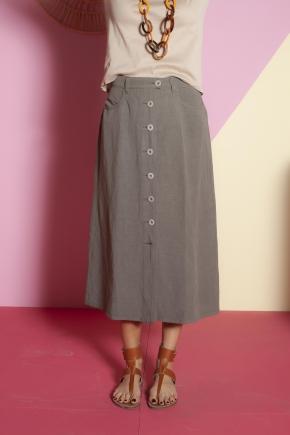 Skirt 50% linen 50% viscose