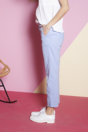 Ankle pants 66% cotton 31% polyamide 3% elastane