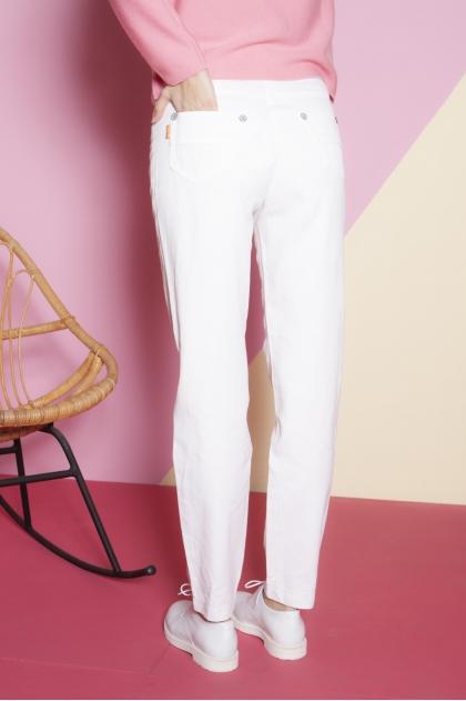 Pantalon 66% viscose 34% lin