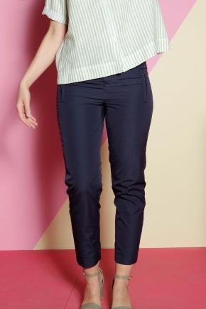 100% cotton ankle pants