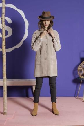Coat 100% cotton