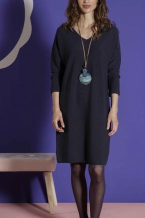 Dress 100% virgin wool