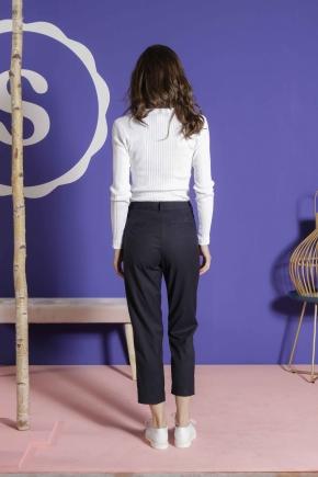 Pantalon 71% polyester 27% viscose 2% élasthanne