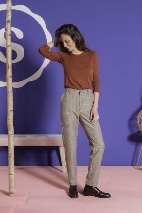 Pants 83% polyester 15% viscose 2% elastane