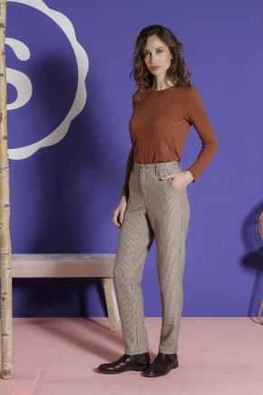 Pantalon 83% polyester 15% viscose 2% élasthanne