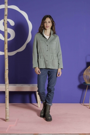Anglais  Saharan 86% cotton 14% acrylic