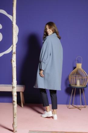 Manteau 54% coton 19% polyester 15% polyacrylique 10% laine 2% autres fibres